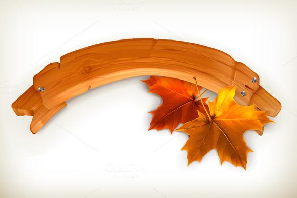 Autumn Banner Icon