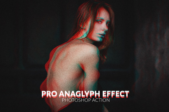 Pro Anaglyph 3D Effect Action
