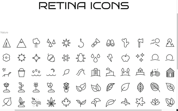 100 Nature Animal Bug Icons