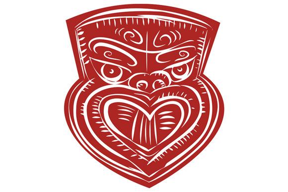 Maori Mask Etching