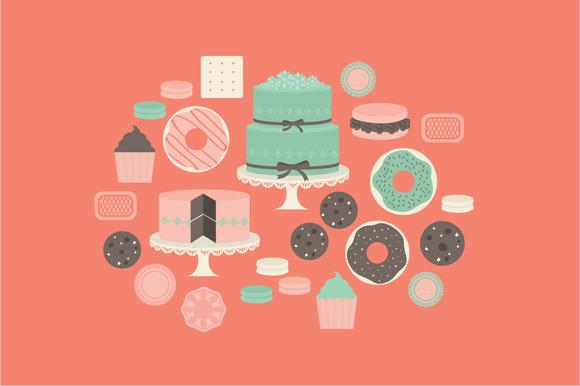 Dessert Vector Illustration
