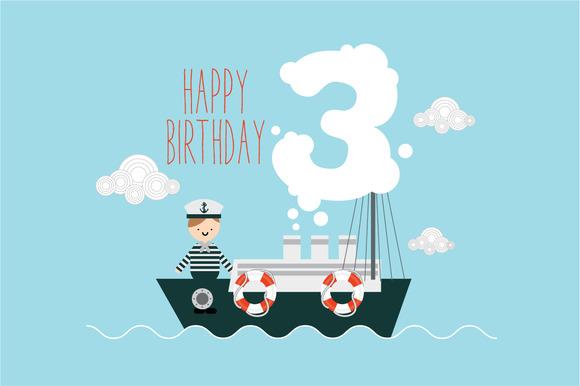 Birthday Template Vector