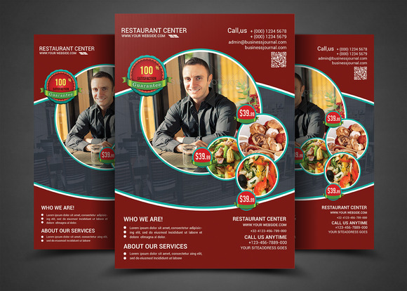Best Food Resto Restaurant Flyer