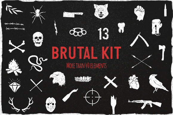 Brutal Vector Kit
