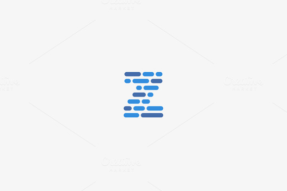 Dynamic Code Blocks Letter Z Logo