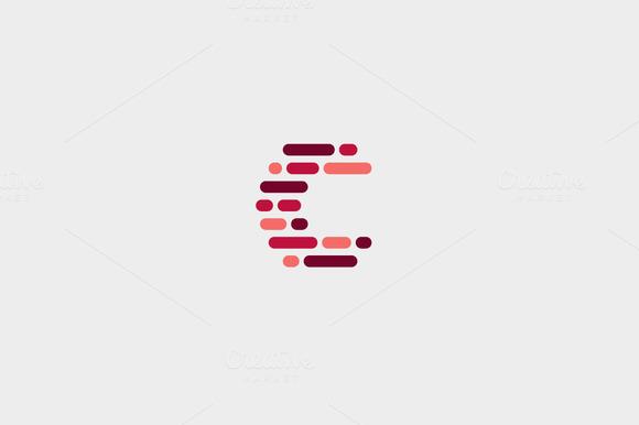 Dynamic Code Blocks Letter C Logo