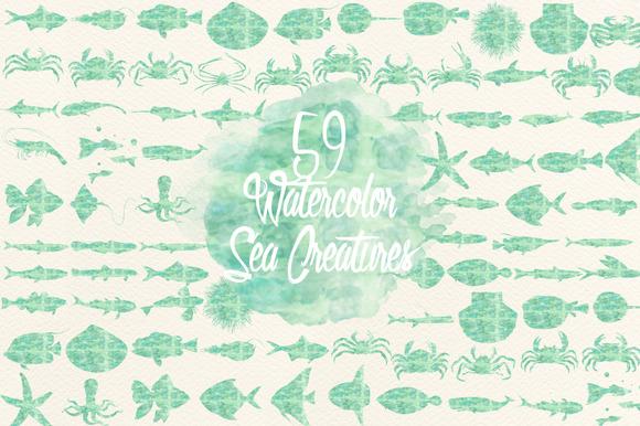 Mint Sea Creatures
