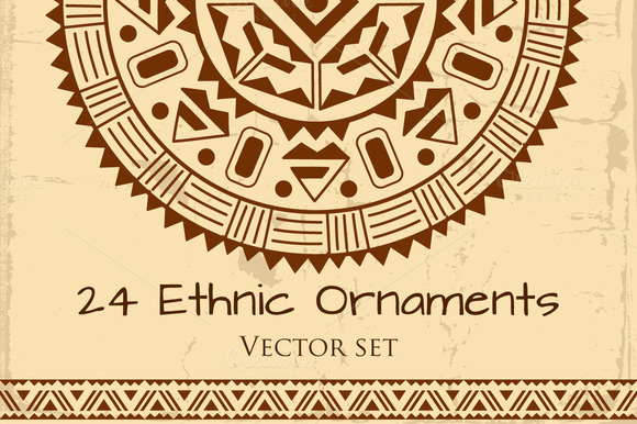 Ethnic Ornament Pack