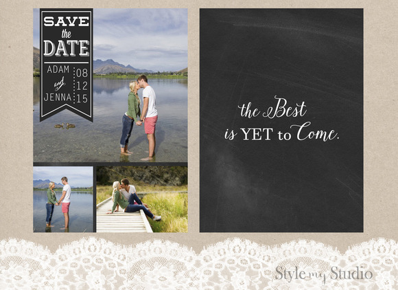 4 Save The Date- Photographer Ready
