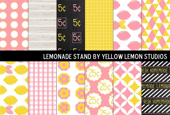 Summer Pink Lemonade Stand