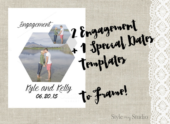 3 Engagement Digital Templates
