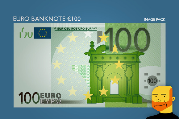 Euro Banknote Ђ100