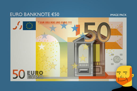 Euro Banknote Ђ50