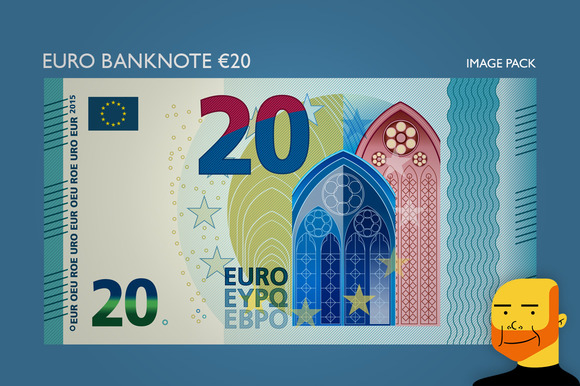 Euro Banknote Ђ20