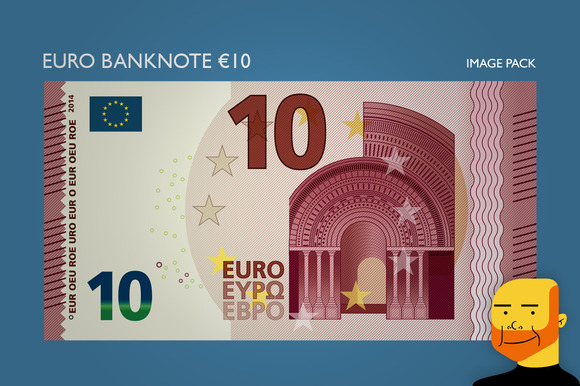 Euro Banknote Ђ10