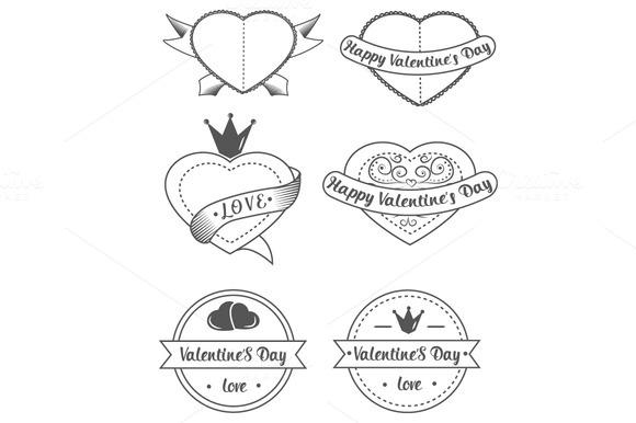 Retro Love Icons