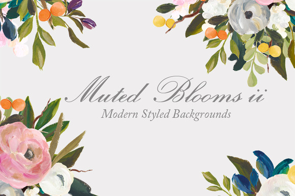 Floral Background Product Mockup