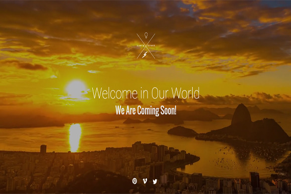 Sunset Coming Soon HTML Template