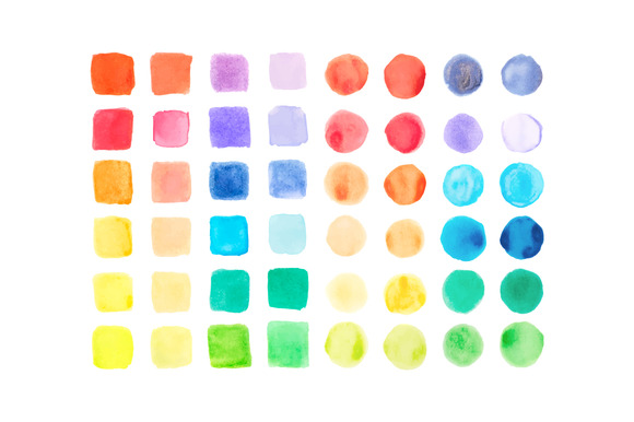 Vector Watercolor Samples
