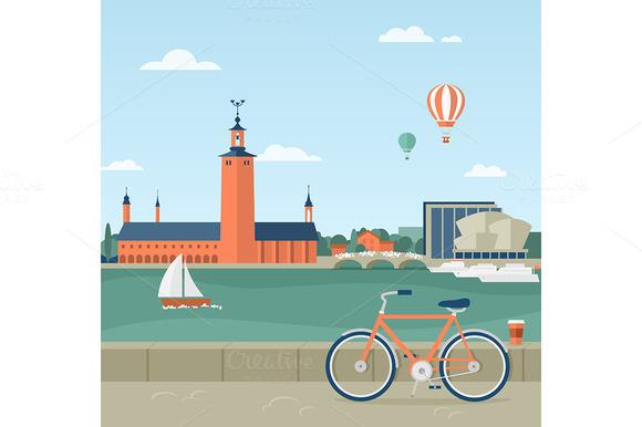 Stockholm Seaside Promenade