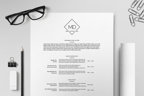 Resume CV Template II