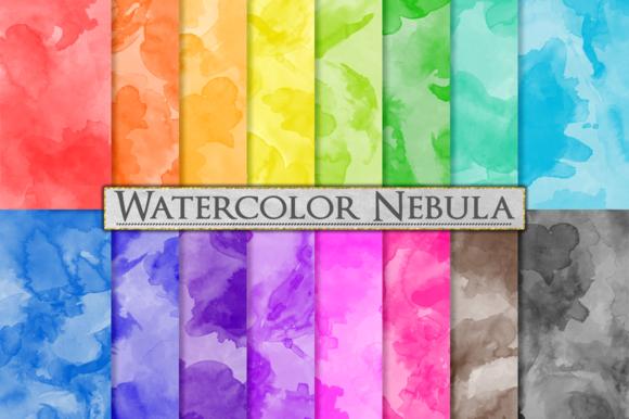Watercolor Textures Paint Splatter