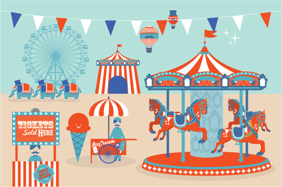 Circus Illustration Vector