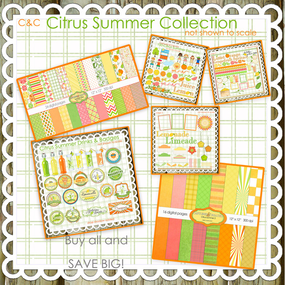 Mega Citrus Summer Collection