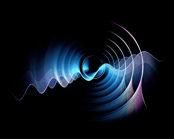 Digital Art Blue Abstract