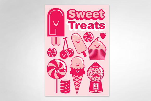 Dessert Sweet Treats Vector