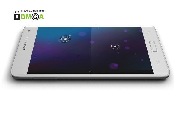 Samsung Galaxy Note Edge Mock Up