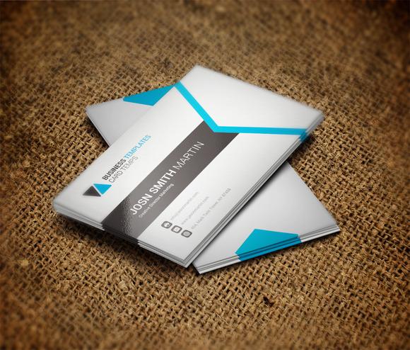 Social Business Card Template