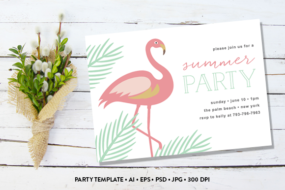 Summer Party Invite