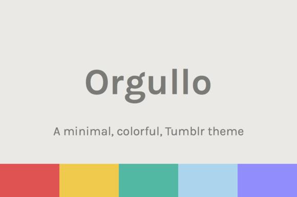 Orgullo ~ Pride Tumblr Theme