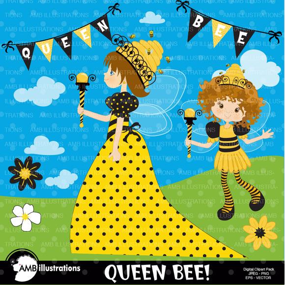 Queen Bee Clipart 929