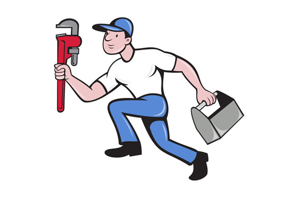 Plumber Running Toolbox Adjustable W