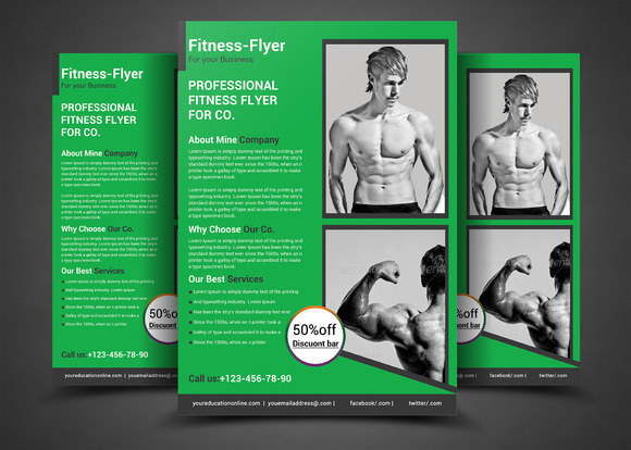 Fitness Flyer Gym Flyer