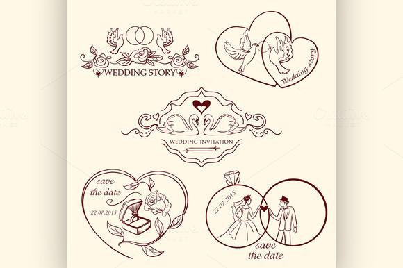 Decorative Wedding Logo