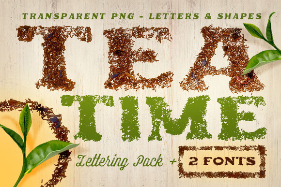 Tea Time Creative Lettering