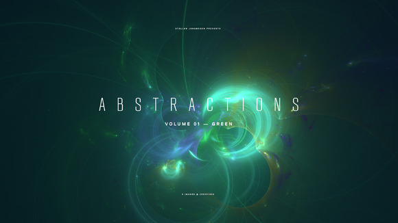 Abstractions Volume 01 Green