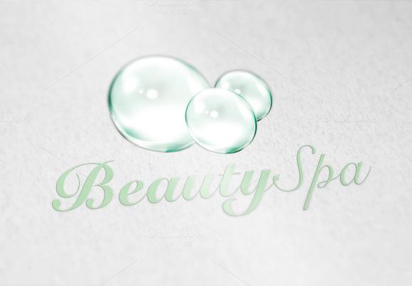 Bubble Beauty Spa Logo