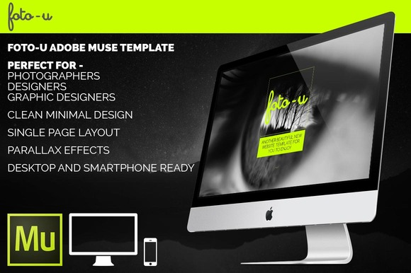 Foto-U Adobe Muse Template