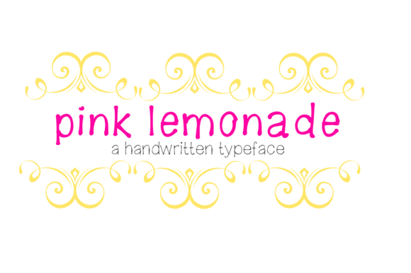 Pink Lemonade- Handwritten Font