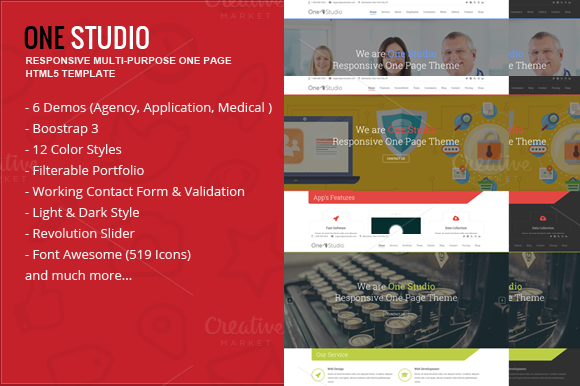 OneStudio Responsive Multi-Purpose