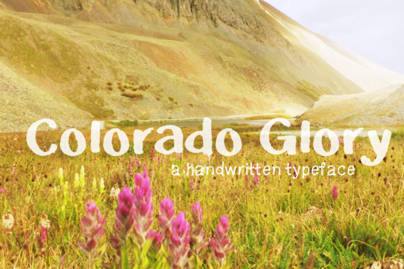 Colorado Glory- Handwritten Font
