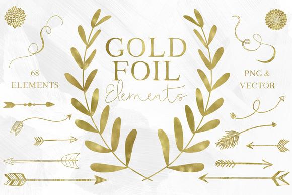 67 Gold Foil Elements