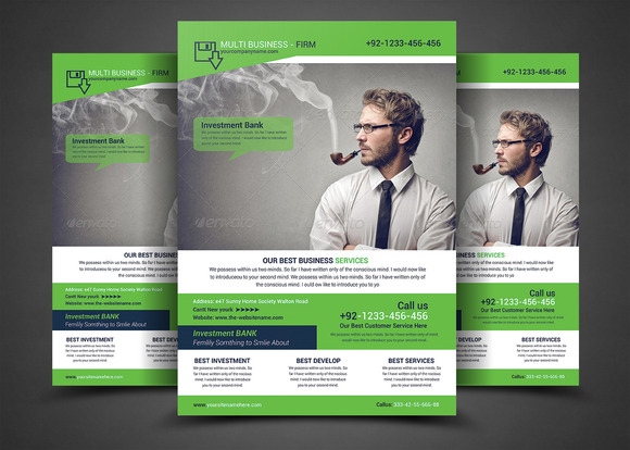 Capital Firm Business Flyer