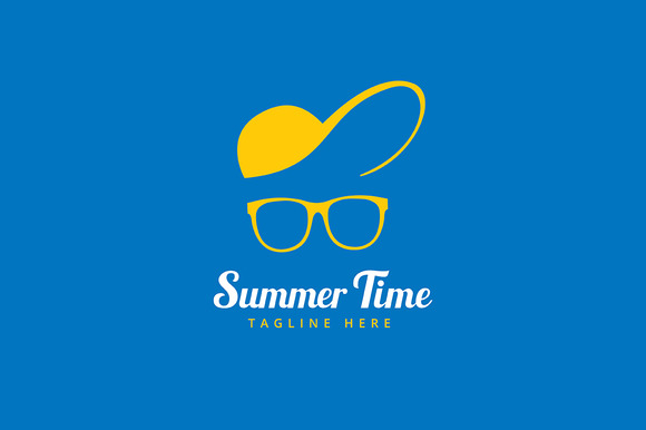 Vocation Summer Time Glasses Logo