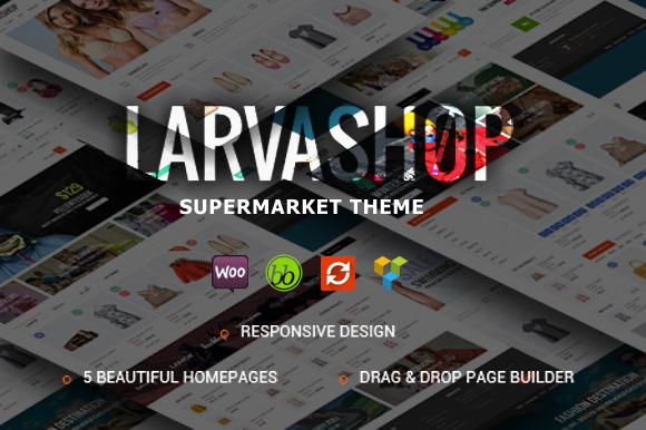 Larva WooCommerce WordPress Theme