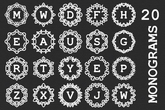 20 Celtic Monograms Logos